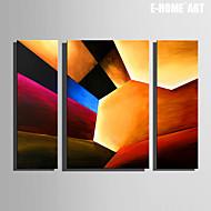 e-Home® venytetty kankaalle art abstrakti kuvio koriste maalaus sarja 3