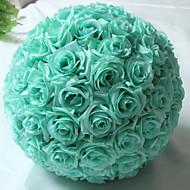 Künstliche Blumen ( Rosa / Blau / Gelb / Helles Himmelblau / Lila , Kunststoff ) - Nicht personalisiert