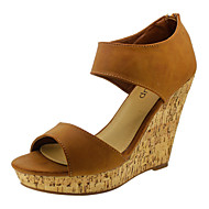 Women's Shoes Wedge Heel Wedges/Platform/Open Toe Sandals Party & Evening/Dress More Colors Available