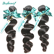 "Brazilian Hair Loose Wave 8""-30"" 3Pcs/Lot Unprocessed Brazilian Human Hair Weaves No Shedding No Tangle Grade 6A"