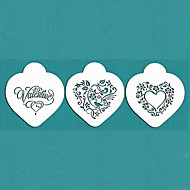 Valentýnský dáreček být moje srdce cookie šablony nastaven na dort zdobení, st-670