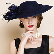 Women's Wool Headpiece - Wedding / Special Occasion Hats 1 Piece
