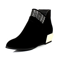 Women's Shoes Wedge Heel Fashion Boots Boots Party & Evening/Dress Black/Red