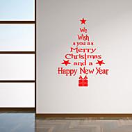 muurstickers muur stickers stijl zegen taal kerstboom pvc muurstickers