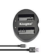 kingma® dual slot USB akkulaturi Canon LP-E8 akku EOS 550D 600D 650D 700D kamera