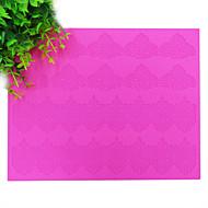 Sugar Royal Lace Border Mold, Silicone Texture Cake Lace Mat,Wedding Fondant Lace Mold,BLM-19