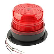 dearroad DC12 / 24v høy effekt bil magnetisk advarsel flash beacon strobe nødlys oransje / rød
