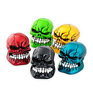 New Auto Shift Knob Refires Knob Skull Head Gear Cool Wave Stick Head Automobile Race Gear Head Car Stalls Head