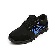 Herenschoenen - Buiten / Casual / Sport - Blauw / Groen / Wit - Tule - Modieuze sneakers