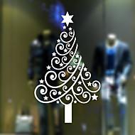 Okno samolepky Samolepky na okno styl vánočního stromu z PVC dveře nálepky