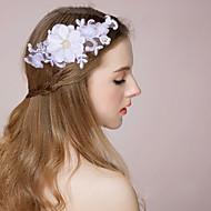 꽃 여성 웨딩 레이스 투구 웨딩 1개
