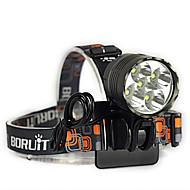 LT Налобные фонари / Велосипедные фары LED 7000 Люмен 3 Режим Cree XM-L T6 18650Водонепроницаемый / Перезаряжаемый / Ударопрочный /