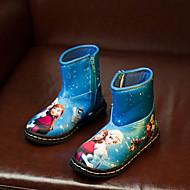 MEISJE - Comfort / Snowboots - Laarzen ( Blauw / Paars / Rood )
