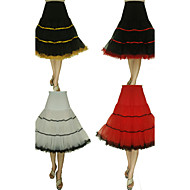 Slip ( Tulle/Taffeta/Spandez/Lycra , Bianco/Nero/Rosso/Arancione ) A palloncino/A gonna ampia - 66cm/ 26inch - 3