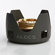alocs® קמפינג תנור אלכוהול (תנור אלכוהול, הדום) כלי בישול מיני לטיולים רגליים / פיקניק / תרמילאים