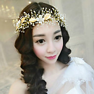 Women's Pearl/Alloy Headpiece - Wedding/Special Occasion Birdcage Veils 1 Piece