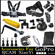 20 in 1 Chest Head Wrist Strap + Handle Monopod Floating Accessories For Gopro Hero 1234 Xiaomi