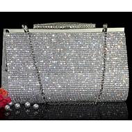 Damen Andere Lederart Abendtasche Gold / Silber