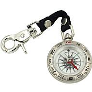 Metal Antique Pocket Watch Style Compass With Lanyard High-Grade High-Grade Zinc Alloy Retro Compass