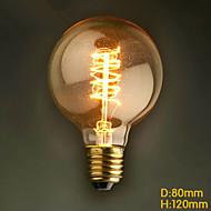 E27 60W G80 autour du fil American Restaurant balle Edison rétro ampoules décoratives