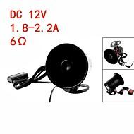 Black Plastic Auto Car Speaker Black Warn Loud Horn Trumpet