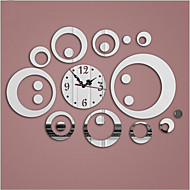 Rond Moderne/Contemporain Horloge murale , Famille Autres 14.96*18.50