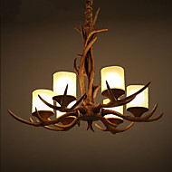 Chandeliers / Pendant Lights LED Vintage Living Room / Bedroom / Dining Room / Study Room/Office / Game Room Resin