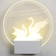 Acrylic Wall Lamp PVC Lamp Light LED / Bulb Included Modern/Contemporary Metal 220V 5㎡-10㎡