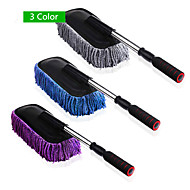 Car Cleaning Brush Car Duster Dust Wax Drag Wax Shan Wax Brush Dust Long Brush 3 Color