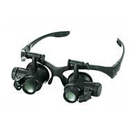 Félszemű / Nagyítók Ékszerek / Órajavítás Széles látószög / Fejhallgató / LED / Időjárásálló / Fogproof / Általános / Nagyfelbontású 20 25