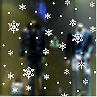 """מדבקת חלון שלג, * 10 ס""""מ (חתיכת 0ne) 10 ס""""מ דקו האמנות קלסית"""