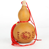 Natural Red Bottle Gourd Hang Furnishing Articles Inspirational Wood Modern/Contemporary