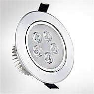 5ワット5leds 550lm暖かい/クールホワイト色は(85-265v)receseedライト天井照明を率いて