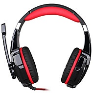 3.5mm Game  Headphone Headset Earphone Headband with Microphone LED Light for PS4/Laptop Tablet Mobile Phones