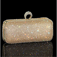 Women Other Leather Type Evening Bag Gold / Silver / Black