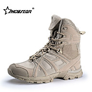 Shoestar R Men's Uniform/ Tactical Boots/Trail Running Shoes Nylon / Fleece / Black / Khaki