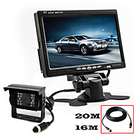 RenEPai® 7 Inch HD Monitor +  BUS 170°HD Car Rear View Camera Waterproof Camera Cable length 10M, 16M, 20M,