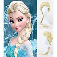 snö och is färger peruk elsa queen elsa cosplay peruk is och snö land aisha peruk