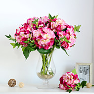 European Hydrangea Simulation Flowers Polyester Hydrangeas Artificial Flowers