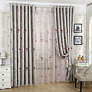 Two Panels Kids Room Cartoon Knight Blackout Curtains