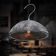 40W Lámparas Colgantes ,  Cosecha Pintura Característica for Mini Estilo MetalSala de estar / Dormitorio / Comedor / Habitación de
