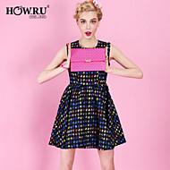HOWRU ® Women 's PU Long Wallet/Card/Clutch bag-Fuchsia