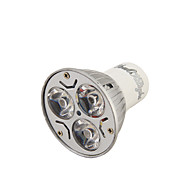 Youoklight® 1pcs gu10 3w 200-250lm 3000 / 6000k branco / quente branco 3-high power led spot bulb (ac110-120 / 220 ~ 240v)