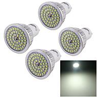 7W GU10 Spot LED A50 48 SMD 2835 600 lm Blanc Froid Décorative AC 100-240 V 4 pièces