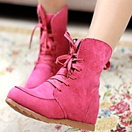 Women's Shoes Libo New Fashion Hot Sale Chunk Heel Fashion Boots Dress / Casual Black/Green/Beige/Fuchsia