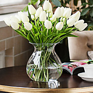 The Sitting Room Furniture Decoration PU Tulips Artificial Flowers