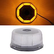 마그네틱베이스와 스트로브 비상 경고 자동차 지붕 위로 빛 240 LED 주황색