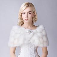 Matrimonio / Da sera Pelliccia ecologica Scialle Senza maniche Wraps Wedding / Coprispalle in pelliccia / Scialli