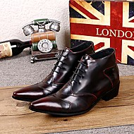 Men's Shoes Amir Limited Edition Pure Handmade Outdoor / Party & Evening Leather Fashion Boots Wine