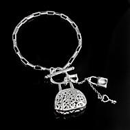 Armbänder Ketten- & Glieder-Armbänder Sterling Silber Hochzeit / Party / Alltag / Normal Schmuck Geschenk Silber,1 Stück